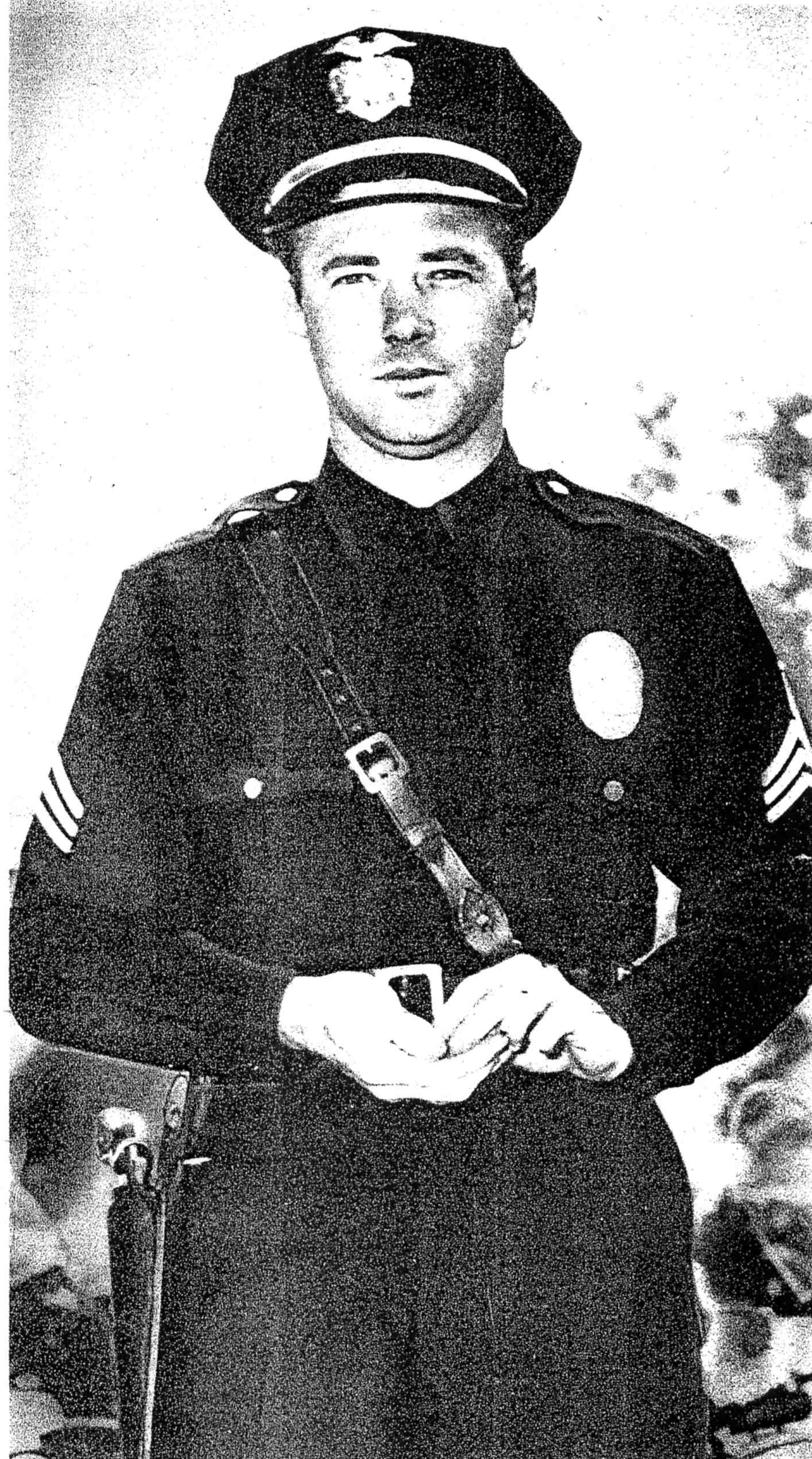 Sgt. Charles Stoker in Uniform